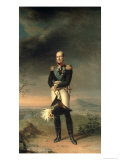 Portrait of Prince Mikhail Barclay de Tolly Giclee Print by George Dawe