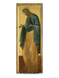 St. John the Forerunner, from the Deisis Tier of the Dormition Cathedral in Vladimir Giclee Print by Andrei Rublev