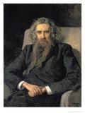 Portrait of Vladimir Sergeyevich Solovyov Giclee Print by Nikolai Aleksandrovich Yaroshenko