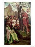 St. John the Baptist Preaching Before Herod, from the Triptych of St. John, 1514 Giclee Print by Hans Fries