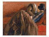 Emilie, the Artist's Sister, Asleep, c.1848 Giclee Print by Adolph Freidrich Erdmann Von Menzel