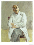 The Surgeon, Ferdinand Sauerbruch, 1932 Reproduction procédé giclée par Max Liebermann