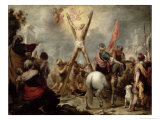 The Martyrdom of St. Andrew, 1675-82 Giclee Print by Bartolome Esteban Murillo