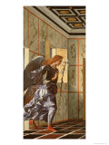 The Archangel Gabriel, from the Annunciation Diptych Giclee Print by Giovanni Bellini