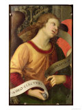 Angel, from the Polyptych of St. Nicolas of Tolentino, 1501 Reproduction proc&#233;d&#233; gicl&#233;e par Raphael 