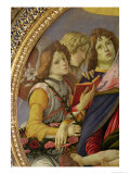 Virgin and Child with Six Angels, Called the Madonna of the Pomegranate Giclee Print by Sandro Botticelli