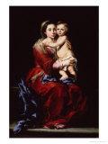 The Virgin of the Rosary, c.1650 Giclee Print by Bartolome Esteban Murillo