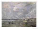 Stormy Weather, Pas de Calais, c.1870 Giclee Print by Jean-Baptiste-Camille Corot