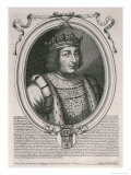 Charles V the Wise Giclee Print by Nicolas de Larmessin