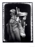Navaho Woman Carrying a Papoose on Her Back, c.1914 Giclee Print by William J. Carpenter