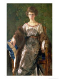 Portrait of Ewfimia Nosova, 1911 Giclee Print by Konstantin Andreevic Somov