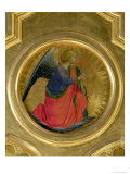 The Angel of the Annunciation, Altarpiece, Church of San Domenico in Perugia Giclee Print by  Fra Angelico