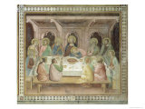 The Last Supper, from a Series of Scenes of the New Testament Giclee Print by Barna Da Siena