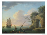 Seascape, 1748 Giclee Print by Carle Vernet