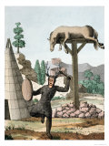 Siberian Tartar Shaman and Burial Ground, c.1811 Giclee Print