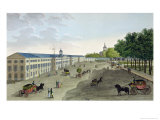 New Gallery of the Museum of Natural History at Jardin Des Plantes in Paris, Engraved Fortier Giclee Print by Henri Courvoisier-Voisin