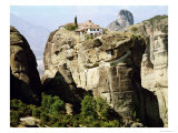 View of the Monastery of the Holy Trinity Giclee Print