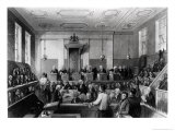 Central Criminal Court, the Old Bailey, Engraved by H. Melville Giclee Print by Thomas Hosmer Shepherd