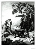 Pierre Sonnerat Drawing a Bird, Voyage a La Nouvelle-Guinee, Engraved by Marie Therese Martinet Giclee Print by Pierre Sonnerat