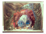 Stage Model For the Opera Tannhauser by Richard Wagner Giclee Print