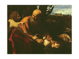 The Sacrifice of Isaac, 1603 Giclee Print by Caravaggio 