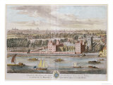 Lambeth Palace, Seat of the Archbishop of Canterbury Engraved by Johannes Kip Giclee Print by Leonard Knyff