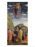 The Ascension, Left Hand Panel from the Altarpiece, c.1466 Giclee Print by Andrea Mantegna