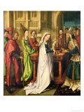 Depiction of Christ in the Temple, 1500 Giclee Print by Hans Holbein the Elder