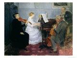 Chamber Music Concert, c.1885-90 Giclee Print by Jules-Alexandre Grün