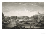 West Wycombe Park, Engraved by William Woollett Giclee Print by William Hannan