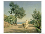 The Road to the Sea, Algeria, 1883 Giclee Print by Aleksandr Pavlovich Bryullov