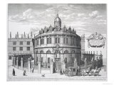 Sheldonian Theatre, Oxford, from Oxonia Illustrata, Published 1675 Giclee Print by David Loggan