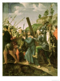 Christ Carrying the Cross, 1518-25 Giclee Print by Michiel Sittow