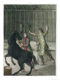 Shaman Banishing the Evil Spirits of a Sick Person, Siberia, c.1811 Giclee Print