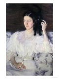 Sita and Sarita, or Young Girl with a Cat, 1893-94 Giclee Print by Cecilia Beaux