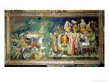 The Parting of the Red Sea, 1356-67 Giclee Print by Also Manfredi De Battilori Bartolo Di Fredi