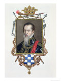 Ferdinand Alvarez de Toledo Duke of Alva, Memoirs of the Court of Queen Elizabeth, Pub.1825 Reproduction procédé giclée par Sarah Countess Of Essex