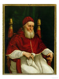 Portrait of Pope Julius II Reproduction proc&#233;d&#233; gicl&#233;e par Raphael 