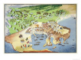 Battle of Piraeus, from the Pictorial History of the Greek War of Independence Giclee Print