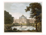 Brighton Pavilion: Proposed View of the Garden, Engraved Stadler, c.1816 Giclee Print by Humphry Repton