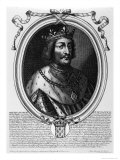 Philip VI of Valois Giclee Print by Nicolas de Larmessin