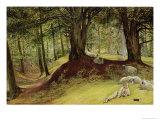 Parkhurst Woods, Abinger, Surrey Giclee Print by Richard Redgrave