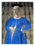 The Madonna Del Parto, c.1450-70 Giclee Print by  Piero della Francesca