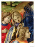 The Vision of St. Bernard, Detail of Three Angels, 1480 Giclee Print by Filippino Lippi