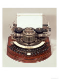 Hammond Typewriter, with the Ideal Keyboard, c.1895 Giclee Print