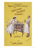 Advertisement For The Albionette Oven, Manufactured by The Albion Lamp Company, 1896 Lámina giclée por Dudley Hardy