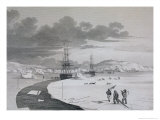 Cutting Into Winter Island, c.1821 Giclee Print by Captain George Francis Lyon