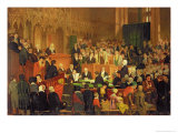 The Trial of the Warranty of a Horse in the County Court of Lancaster Castle Giclee Print by Edward Villiers Rippingille