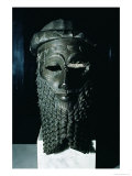 Head of Sargon I Giclee Print by  Mesopotamian