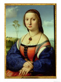 Portrait of Maddalena Doni, 1506 Reproduction proc&#233;d&#233; gicl&#233;e par Raphael 
